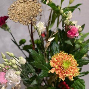 Boeket gemaakt door Bloemsierkunst Florade
